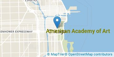 Location of American Academy of Art