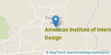 Location of American Institute of Interior Design