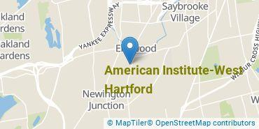 Location of American Institute - West Hartford