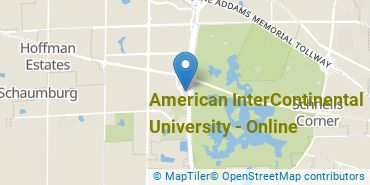 Location of American InterContinental University - Online