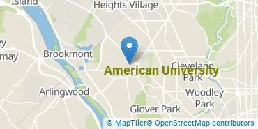 Location of American University
