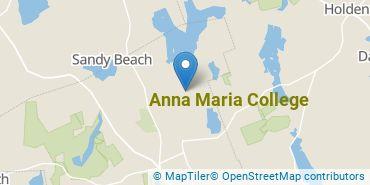 Location of Anna Maria College