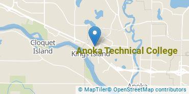 Location of Anoka Technical College