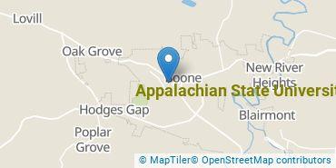 Location of Appalachian State University