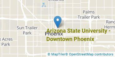 Location of Arizona State University - Downtown Phoenix