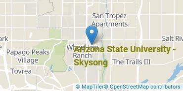 Location of Arizona State University - Skysong