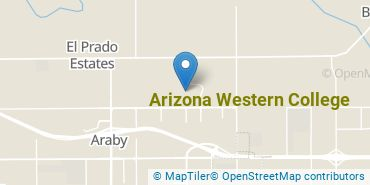 Location of Arizona Western College