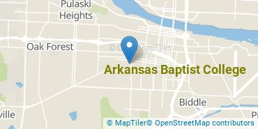 Location of Arkansas Baptist College