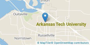 Location of Arkansas Tech University