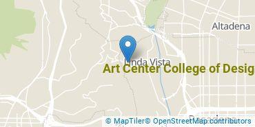 Location of Art Center College of Design