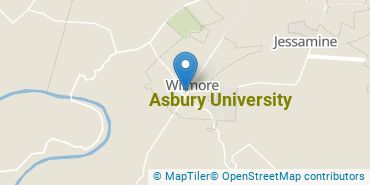 Location of Asbury University