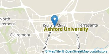Location of Ashford University