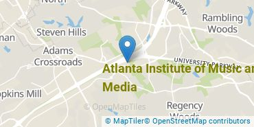 Location of Atlanta Institute of Music and Media