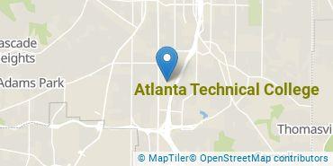 Location of Atlanta Technical College