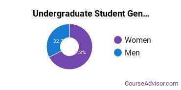 Undergraduate Student Gender Diversity at  AUM