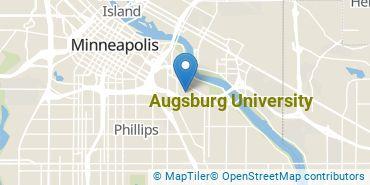 Location of Augsburg University