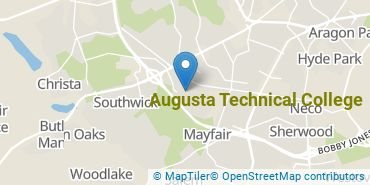 Location of Augusta Technical College