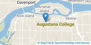 Location of Augustana College