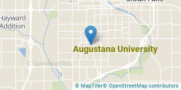 Location of Augustana University