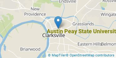 Location of Austin Peay State University