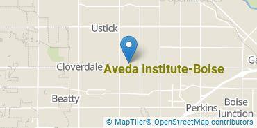 Location of Aveda Institute - Boise