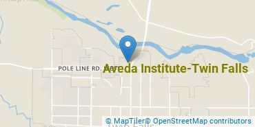 Location of Aveda Institute - Twin Falls