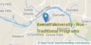Location of Averett University - Graduate & Professional Studies