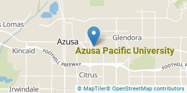 Location of Azusa Pacific University