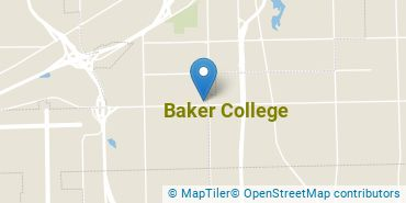 Location of Baker College
