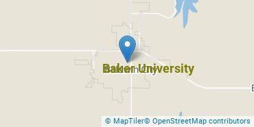 Location of Baker University