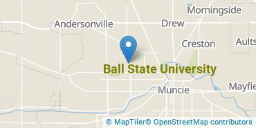 Location of Ball State University