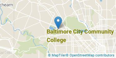 Location of Baltimore City Community College