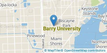 Location of Barry University