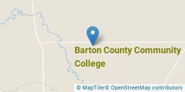 Location of Barton County Community College
