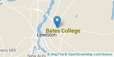 Location of Bates College