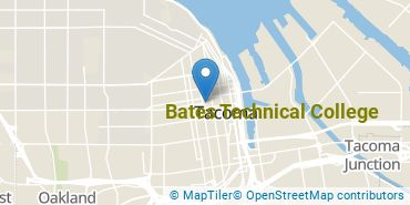 Location of Bates Technical College