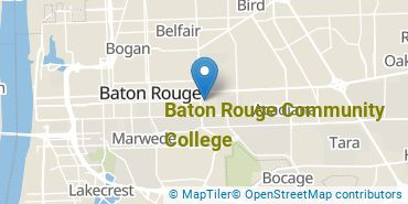Location of Baton Rouge Community College
