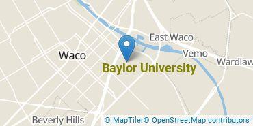 Location of Baylor University
