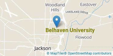 Location of Belhaven University