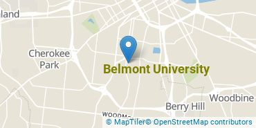 Location of Belmont University
