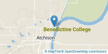 Location of Benedictine College