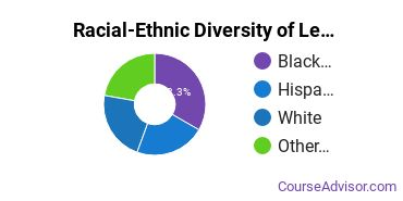 Racial-Ethnic Diversity of Legal Support Services Majors at Bergen Community College