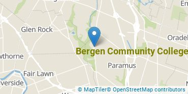 Location of Bergen Community College