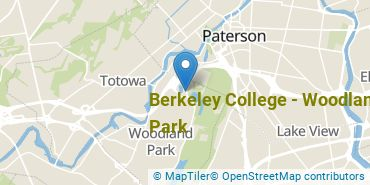 Location of Berkeley College - Woodland Park