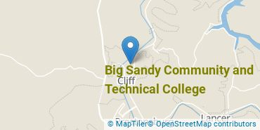 Location of Big Sandy Community and Technical College