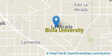 Location of Biola University
