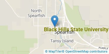 Location of Black Hills State University