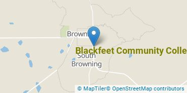 Location of Blackfeet Community College