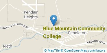 Location of Blue Mountain Community College