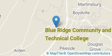 Location of Blue Ridge Community and Technical College